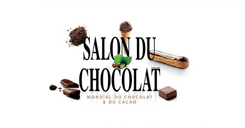 Le salon du chocolat 2018 à Paris